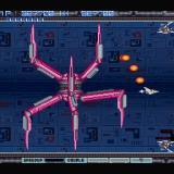 Gradius II Sharp X68000 A gigantic mechanical crab, which is completely invincible... the only thing you can do is dodge beneath its legs and wait until it leaves the screen