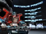 TransFormers PlayStation 2 Select your Autobot... Here's Optimus Prime...