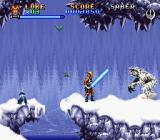 Super Star Wars: The Empire Strikes Back SNES The caves are the habitat of the wampas...