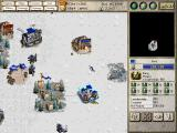 Seven Kingdoms: Ancient Adversaries Windows In this snow terrain scenario, battling Fryhtans is the primary objective. The player starts with a Viking village.