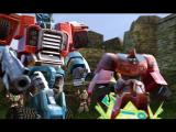 TransFormers PlayStation 2 You have rescued a Minicon...