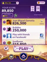 Bejeweled Blitz iPad I have earned coins at the end of each game after one minute.
