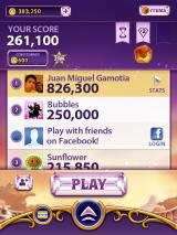 Bejeweled Blitz iPad I have also earned coins including the rare gem at the end of each game, right?