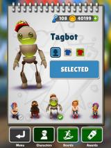 Subway Surfers iPad Character selection (including the limited-edition character/s).