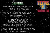 Tetris Worlds Game Boy Advance Square tetris' rules