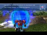 TransFormers PlayStation 2 Optimus recieves a HQ Comm from Red Alert.