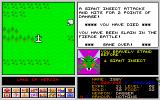 Legend of Lothian Amiga A deadly giant insect