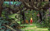 Lost Secret of the Rainforest DOS Some scenes reveal such close-ups for more detailed interaction