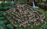 Lost Secret of the Rainforest DOS No Latin America-inspired game is complete without an ancient labyrinth!