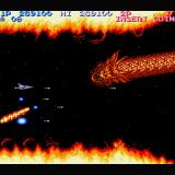 Life Force Sharp X68000 A dragon-like creature called Intruder is the third boss
