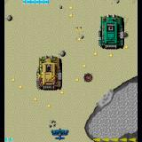 Sky Shark Sharp X68000 A pair of gigantic tanks