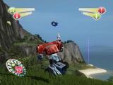 TransFormers PlayStation 2 The hazardous cliffs of Pacific Island.