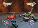 TransFormers PlayStation 2 Megatron in his tank form targets Optimus...