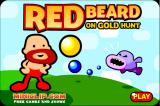 Red Beard on Gold Hunt Browser Main menu