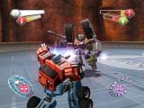 TransFormers PlayStation 2 Megatron faces off with Optimus Prime.