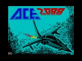 ACE 2088 ZX Spectrum Loading screen
