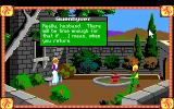 Conquests of Camelot: The Search for the Grail DOS Early in the game, you explore the Camelot castle and talk to your wife, the queen. This response comes from her if you attempt to have sex with her! I'm serious!
