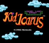 Kid Icarus NES Title Screen