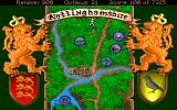 Conquests of the Longbow: The Legend of Robin Hood DOS This is the general map of Nottinghamshire...
