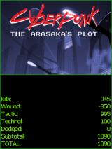 Cyberpunk: The Arasaka's Plot J2ME Some stats