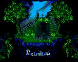 Preludium Amiga Title screen