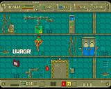 Andromeda Amiga Have to go through electricity barrier