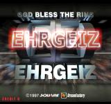 Ehrgeiz: God Bless the Ring Arcade Title Screen.