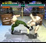 Ehrgeiz: God Bless the Ring Arcade Low kick.