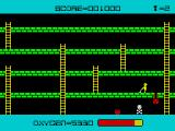 Panic ZX Spectrum Hitting the monster