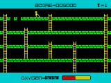 Panic ZX Spectrum Level completed, oxygen bonus points