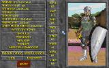 The Elder Scrolls: Chapter II - Daggerfall DOS My character's attributes, early in the game