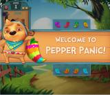 Pepper Panic Saga Browser At level 1, Pepper Puppy welcomes you.