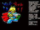 Knights & Demons DX ZX Spectrum Story