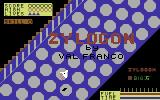 Zylogon Commodore 64 Title Screen.