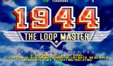 1944: The Loop Master Arcade Title Screen.