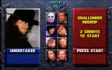 WWF WrestleMania Arcade Player Select.
