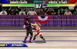 WWF WrestleMania Arcade He grabbed you.