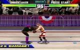 WWF WrestleMania Arcade In a hold.