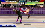 WWF WrestleMania Arcade High kick again.