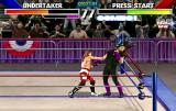 WWF WrestleMania Arcade Punch to the head.