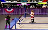 WWF WrestleMania Arcade Outside the ring.