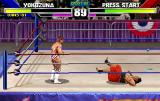WWF WrestleMania Arcade Knocked on your back.
