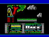 Biff ZX Spectrum Title and main menu