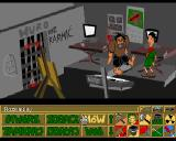 Skaut Kwatermaster Amiga Game graphician headquarters