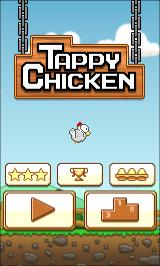 Tappy Chicken Android Main menu
