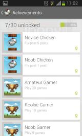 Tappy Chicken Android Achievements