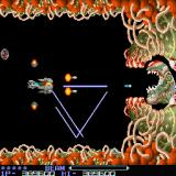 R-Type Sharp X68000 Final boss - Bydo Core, you need to wait until it opens up and then fire the Force pod into the core