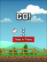 Tappy Chicken Browser Starting the game. Tappy to flappy.