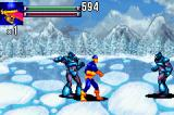 X-Men: Reign of Apocalypse Game Boy Advance Fight on ice