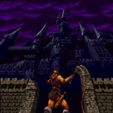 Castlevania Chronicles Sharp X68000 Iconic intro, main hero about to enter the castle